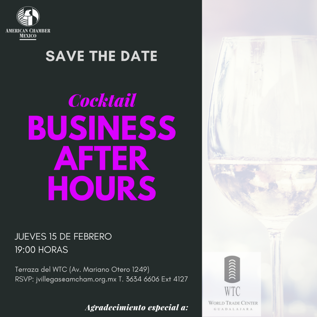 GDL Cocktail Business After Hours Feb. 2018