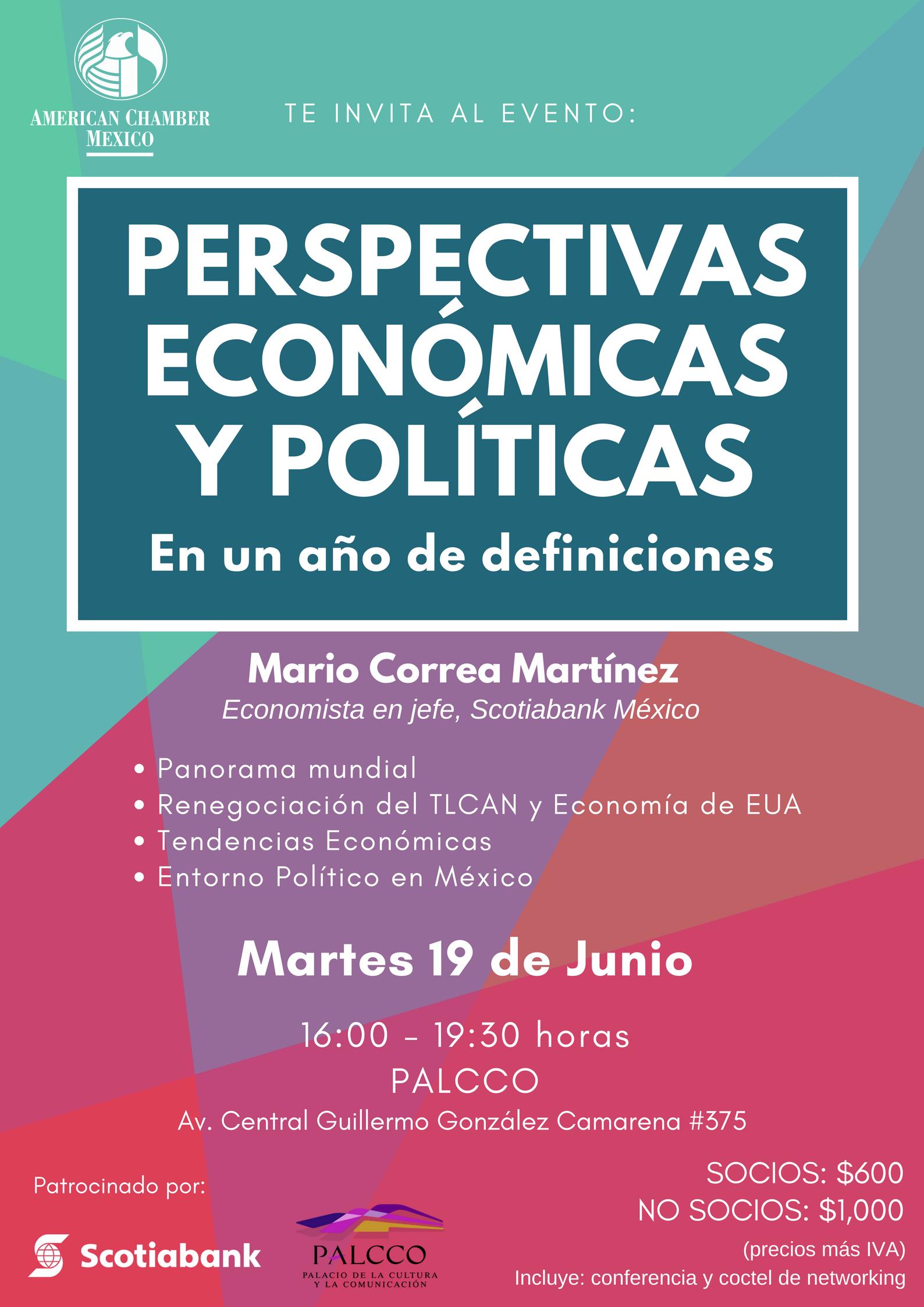 GDL PERSPECTIVAS ECONOMICAS Y POLITICAS JUNIO 2018