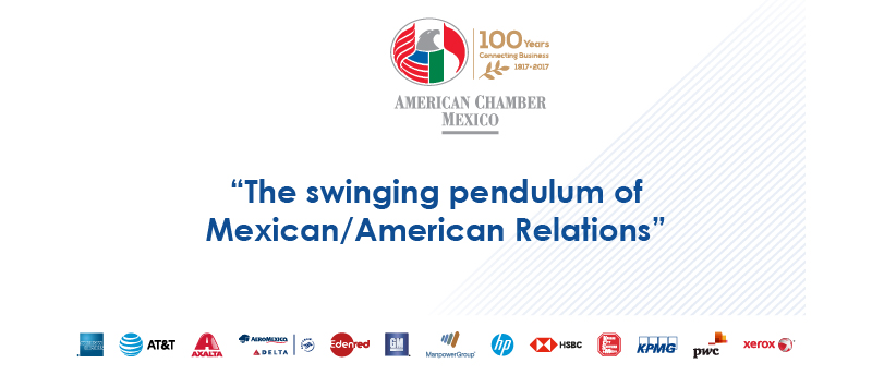 The swinging pendulum of Mexican/American Relations