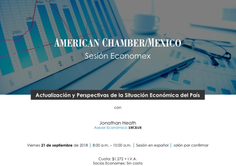 Sesión Economex: Perspectivas Económicas español 21/09/2018
