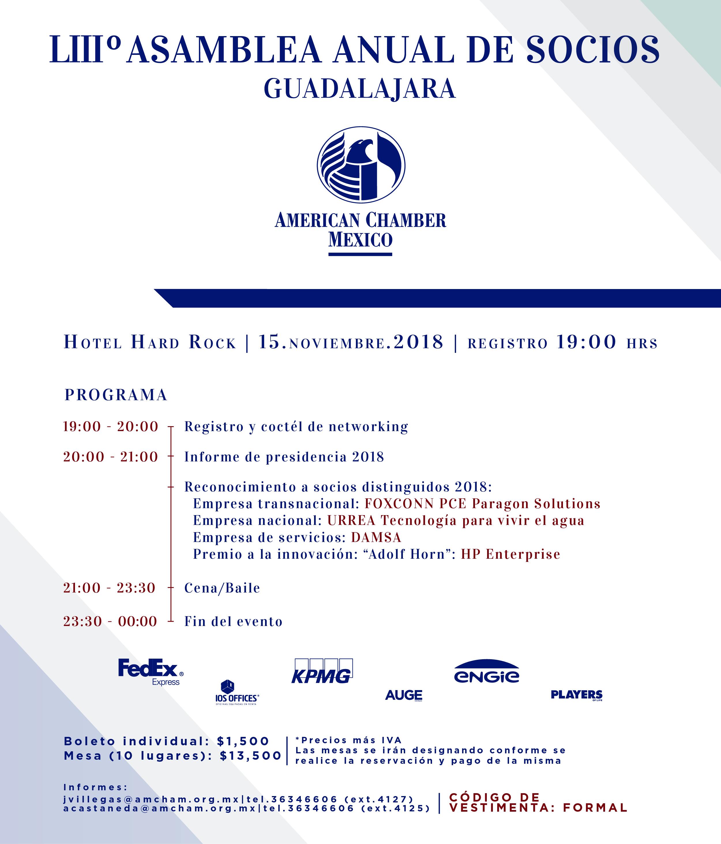 GDL - 53° Asamblea Anual nov. 2018