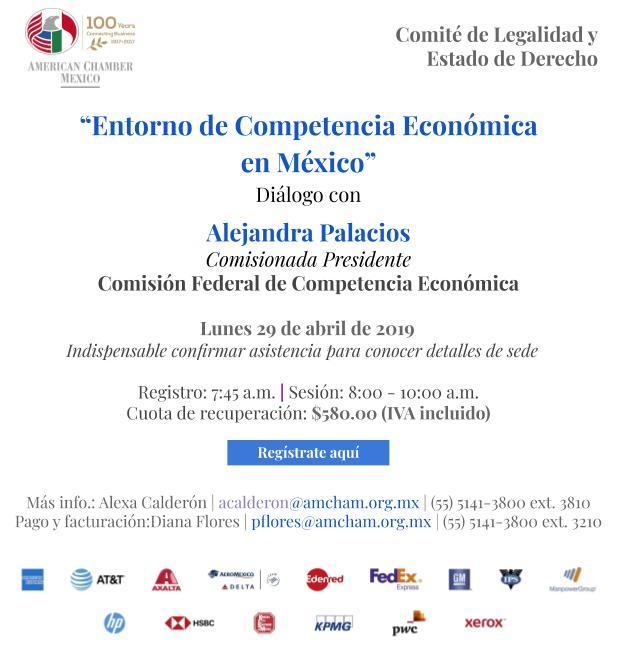 Entorno de Competencia Económica en México