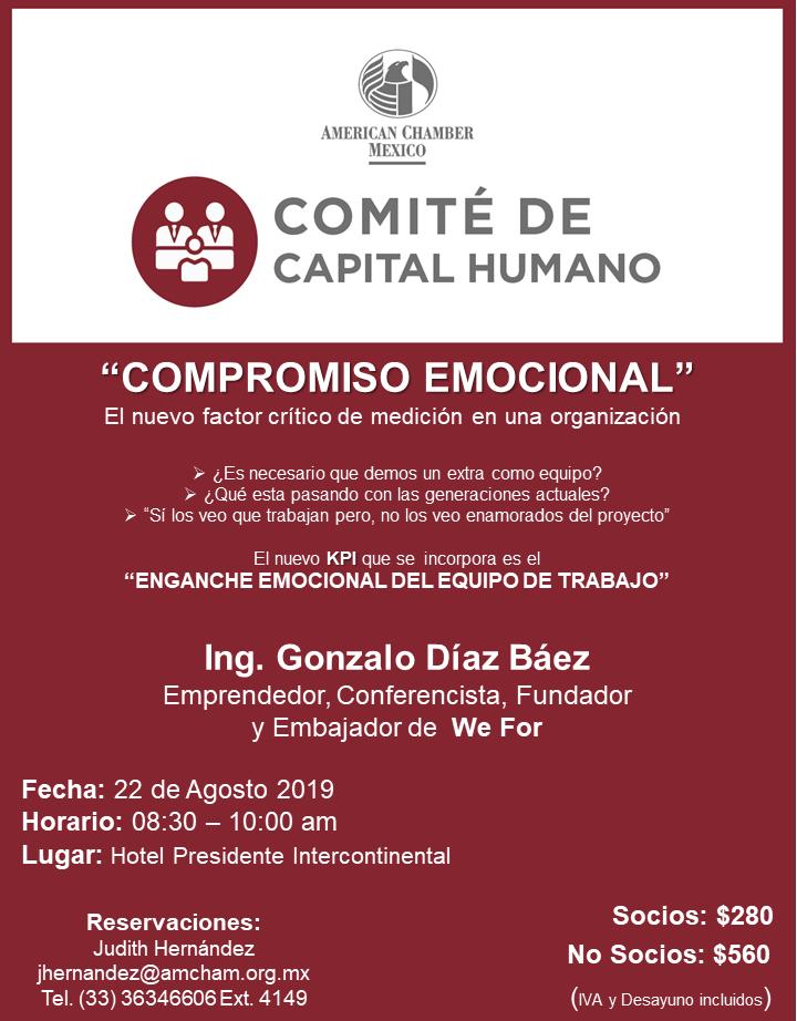 GDL - Comité Capital Humano, Agosto 22, 2019