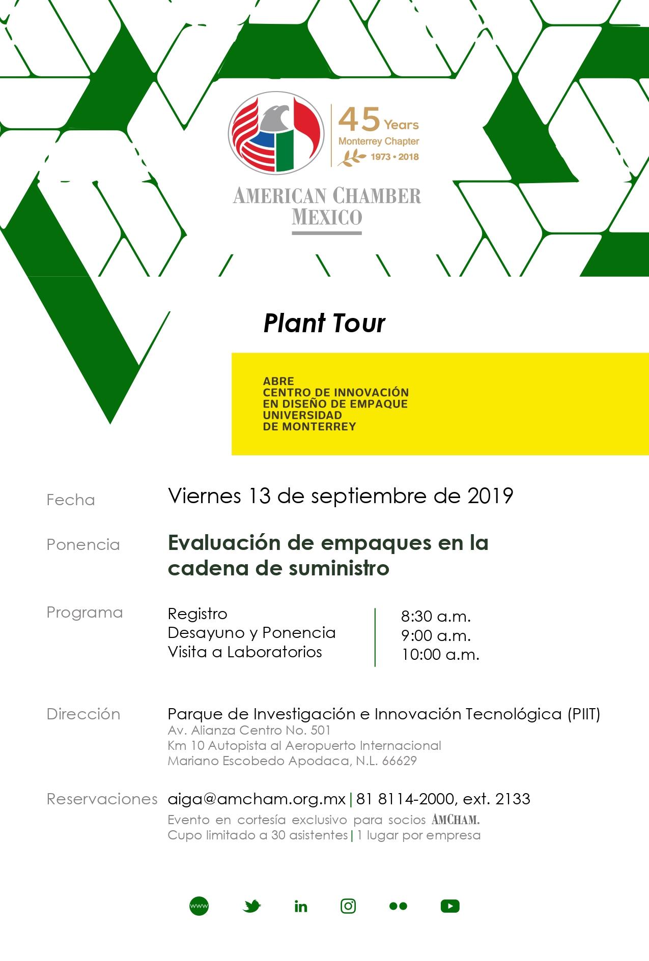 MTY Plant Tour Centro ABRE (UDEM)