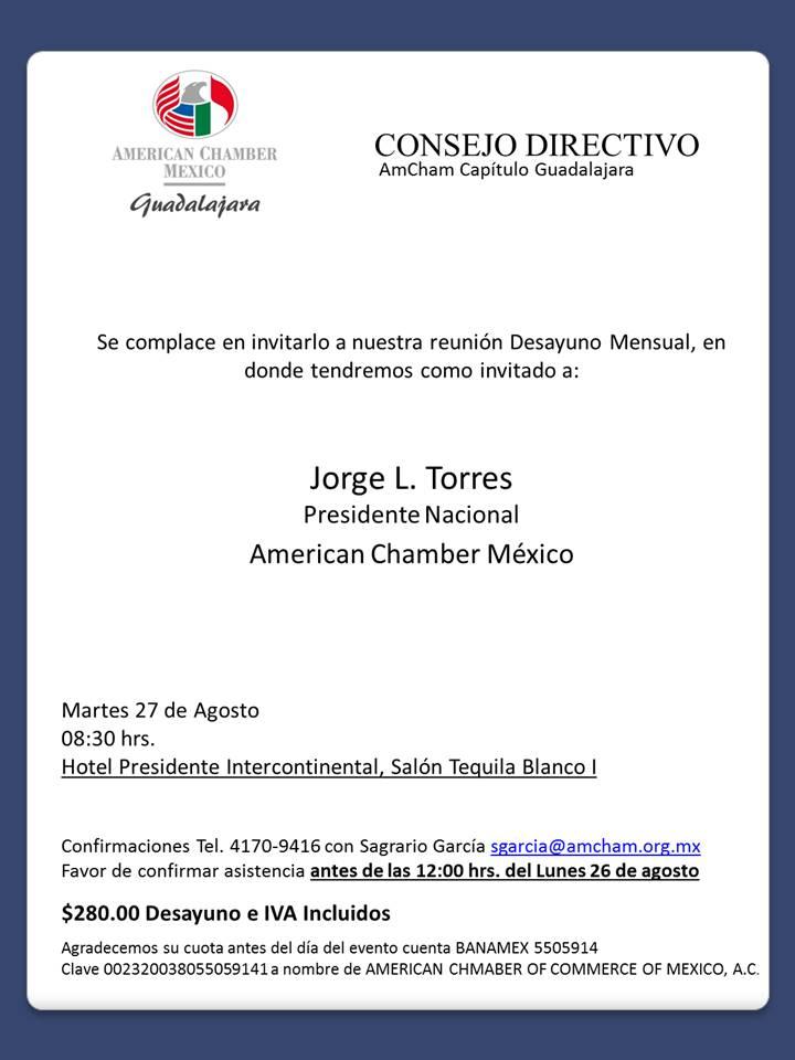 GDL Consejo Directivo agosto 2019