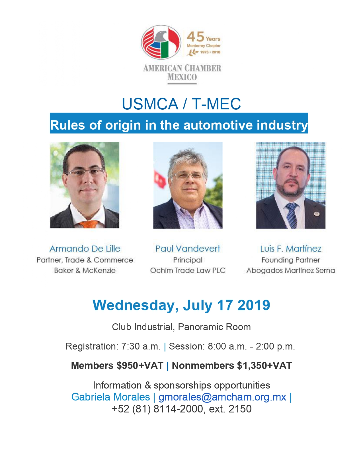 MTY - USMCA / T-MEC_Rules of origin in the automotive industry