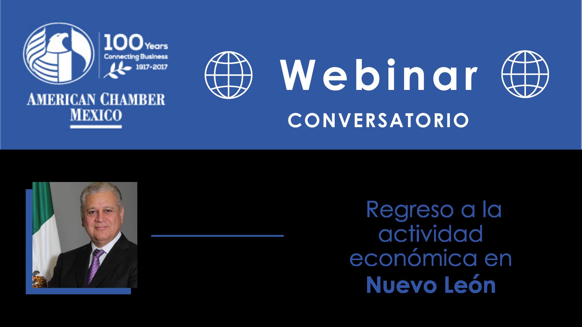 MTY WEBINAR - Conversatorio con Roberto Russildi: Regreso a la actividad económica en Nuevo León
