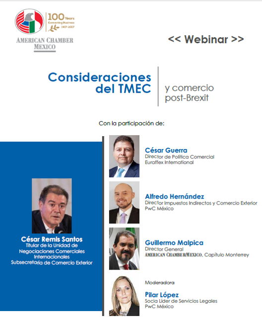 MTY PANEL VIRTUAL - Consideraciones del TMEC y Comercio post Brexit