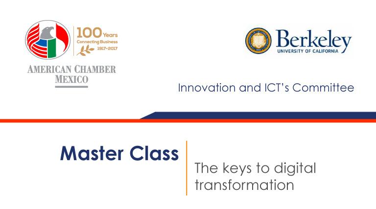 Master Class: The keys to digital transformation
