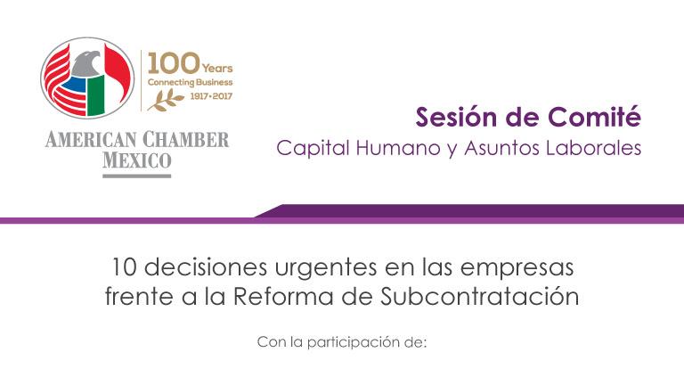 10 decisiones urgentes en las empresas frente a la Reforma de Subcontratación